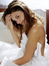 Katie Holmes nude on the bed and..