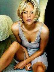 Meg Ryan and her short blonde hair are..