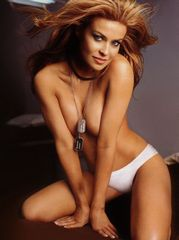 Carmen Electra is hot in lingerie and..