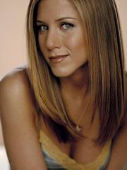 Jennifer Aniston is showing a little..