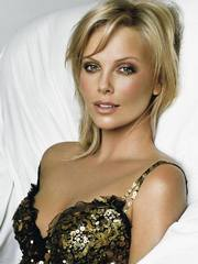 Charlize Theron is a beautiful blonde.