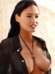 Hot asian celebrity Tia Carrere showing..