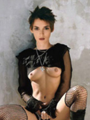 Babe celebrity Winona Ryder on titfuck..