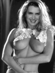 Ultra popular Brooke Shields showing..