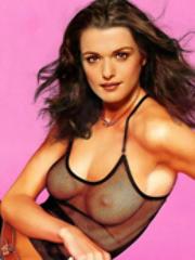 Pretty actress Rachel Weisz bare naked..