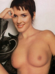 Winona Ryder's naked pics and fucking..