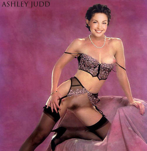 Pretty actress Ashley Judd hardcore and nude fake celeb ...