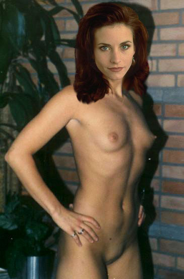 Courtney cox nude tits can