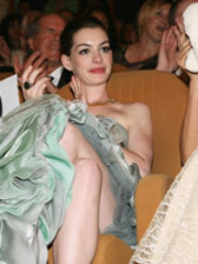 Ann Hathaway at all pose looking great..