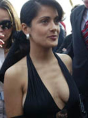 Photos of the hot latin Salma Hayek and..