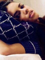 Hot sexy celebrity Adriana Lima poses..