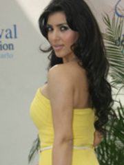 Big boobies celebrity Kim Kardashian..