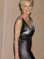 Paparazzi shots of Sharon Stone and a..