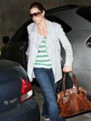 Celebrity Jessica Biel caught by..