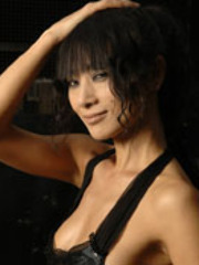 Bai Ling topless on her pictorials..