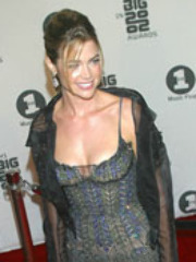 Denise Richards is flea-bitten wearing..
