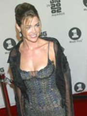Denise Richards gets intimate with her..