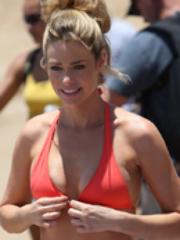 Dennise Richards wearing bikini