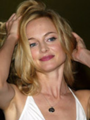 Foxy celeb Heather Graham takes a hot..