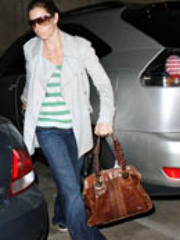 Celebrity chick Jessica Biel is spotted..