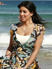 Sexy and luscious celeb Kim Kardashian..