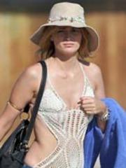 Mischa Barton sexy outfits, bikini wear..
