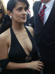 Latina star Salma Hayek in a steamy..