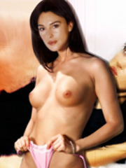 See Monica Bellucci showing her big..