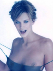 Hot blonde celebrity Natasha Henstridge..