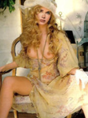 Actress brooke shields in sexy lingerie..