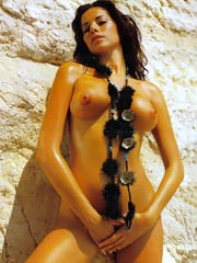 Celeb Aida Yespica nude pictures.