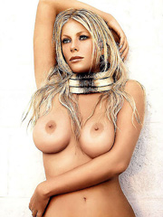 Beauty celebrity Alessia Marcuzzi nude..