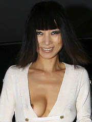 Celeb Bai Ling exposed pics, oops!