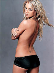 Britney Spears hot body in a slutty..
