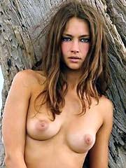 Beauty celebrity Candice Boucher naked..