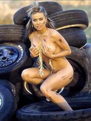 Celeb Carmen Electra nude pictures.