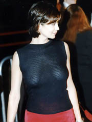 Beauty celebrity Catherine Bell nude..