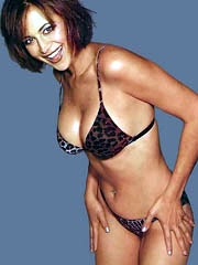 Catherine Bell big boobs in see thru top