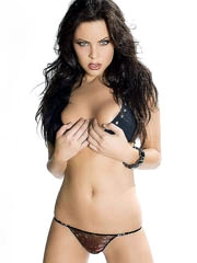 Christa Campbell topless does hot..