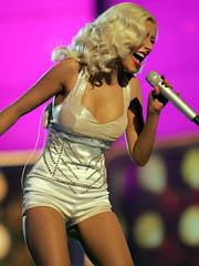 Celebrity Christina Aguilera naked..