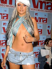 Christina Aguilera encompassing slutty..