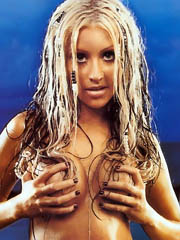Celeb Christina Aguilera nude pictures.