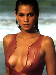 Beauty celebrity Cindy Crawford nude..
