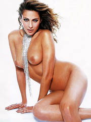 Clara Morgane naked sunbathing at the..