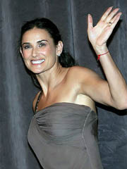 Demi Moore looks very hot in tight dress