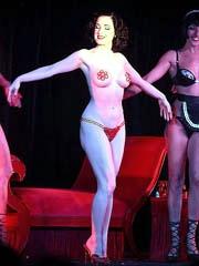 Celeb Dita Von Teese naked pics, oops!