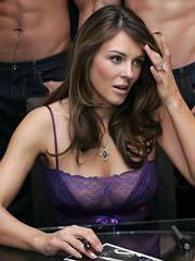 Beauty celebrity Elizabeth Hurley nude..