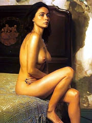 Beauty celebrity Emmanuelle Beart nude..