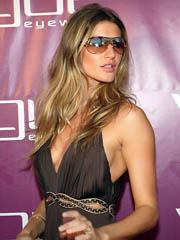 Beauty celebrity Gisele Bundchen nude..