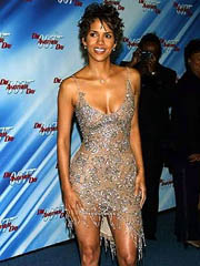 Halle Berry hot bore in a malicious thong